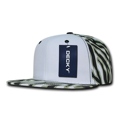 1061 Ziger White Front Snapback