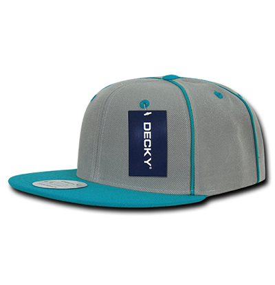 1078 Piped Crown Snapback