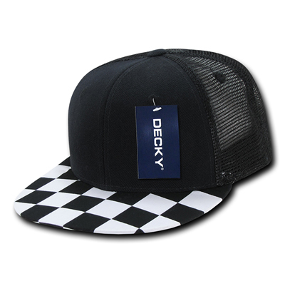 1085 Checkered Bill Trucker