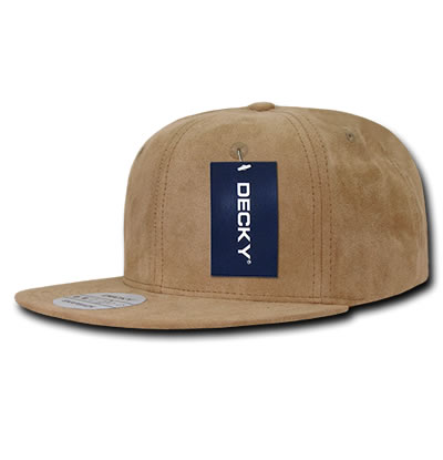 1091 Faux Suede Snapback