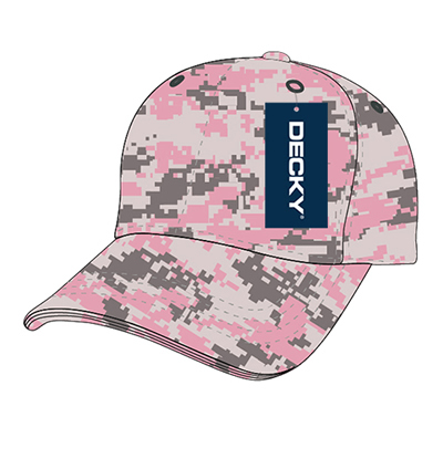 216 Relaxed Cotton Camo Cap