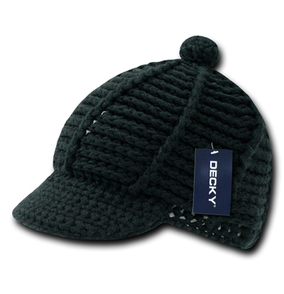624 Crocheted Short Jeep Cap