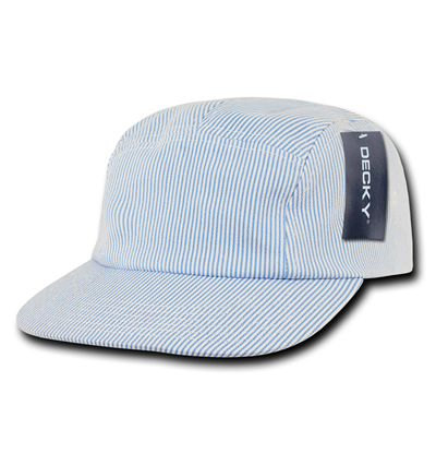 983 Seersucker 5 Panel Racer Cap